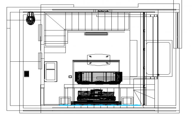 Motel plan dwg file