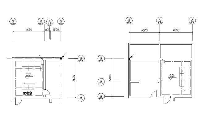 Small Room Plan AutoCAD File Free Downlod