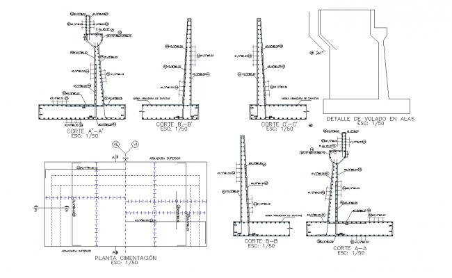 Bridge inter oceanic highway section plan dwg detail file.