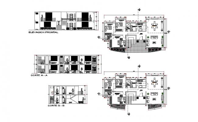 Download Free House Construction Details  In DWG File