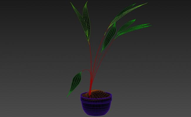 Free Download Plant 3ds Max File