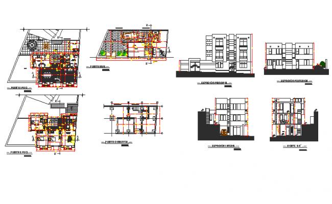 Housing 4 floors