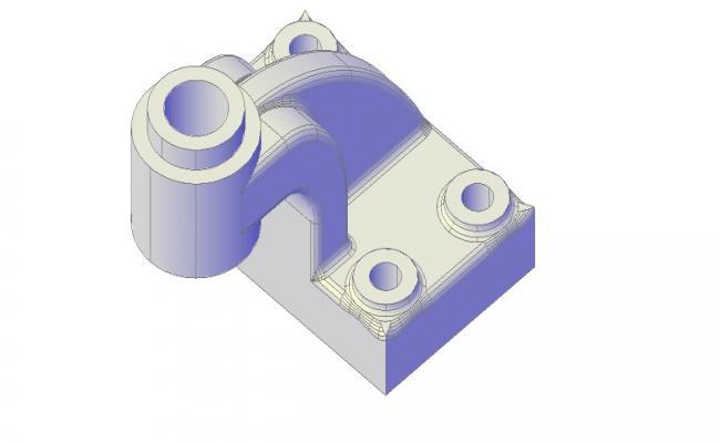 Machine CAD Block In DWG File