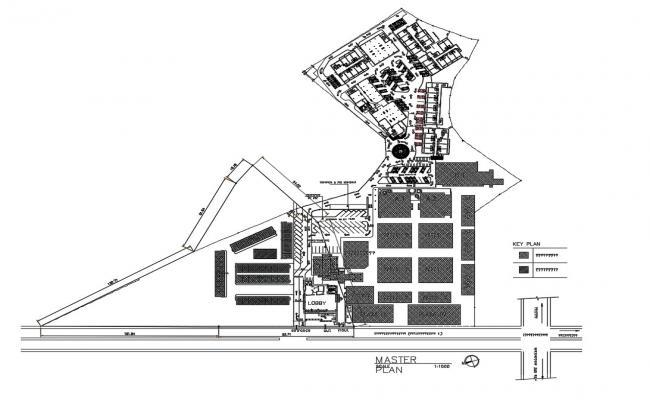 Master Plan Building CAD Drawing