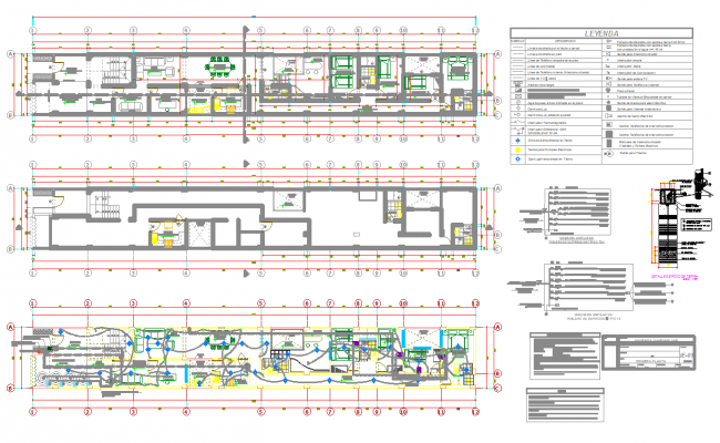 Apartment design and detail in cad files