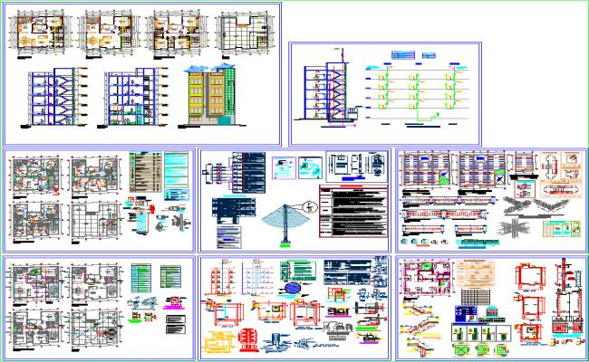 5 storey apartment floor plan