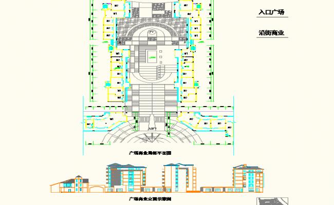 Plaza Commercial Floor Plan detail