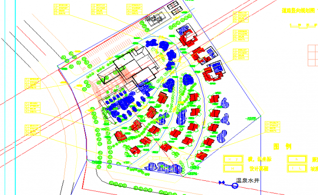 Road vertical planning Lay-out