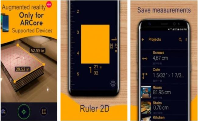Ruler App – Camera Tape Measure (Android APK)