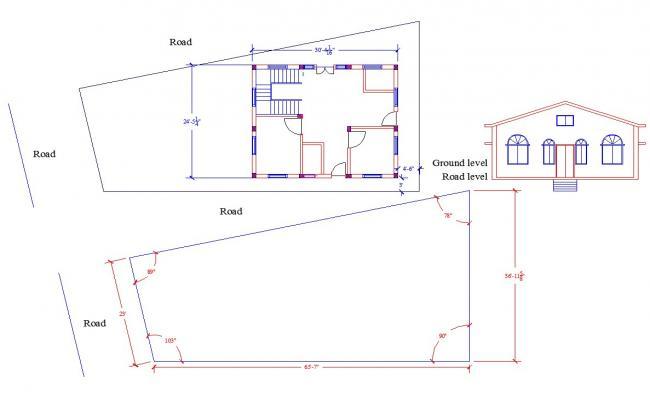 House plan based on Dandaka Method