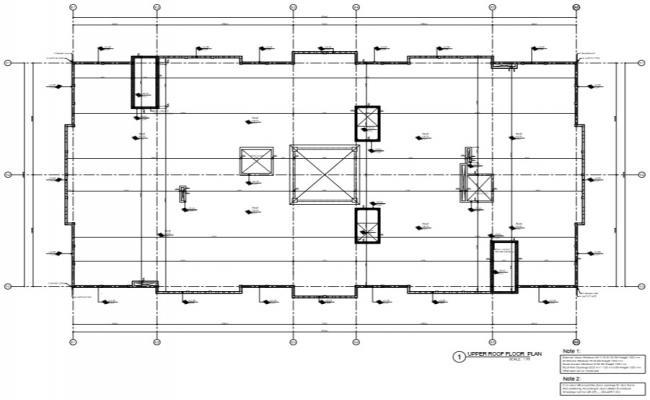 building upper floor plan