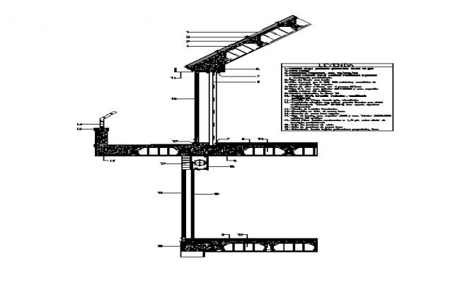 facade section