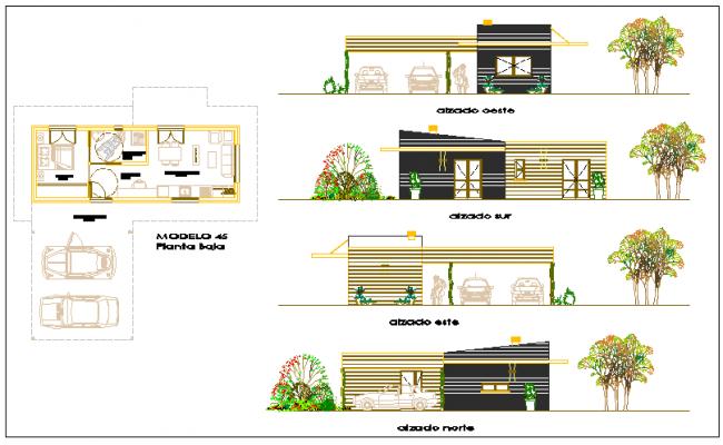 Single family house design