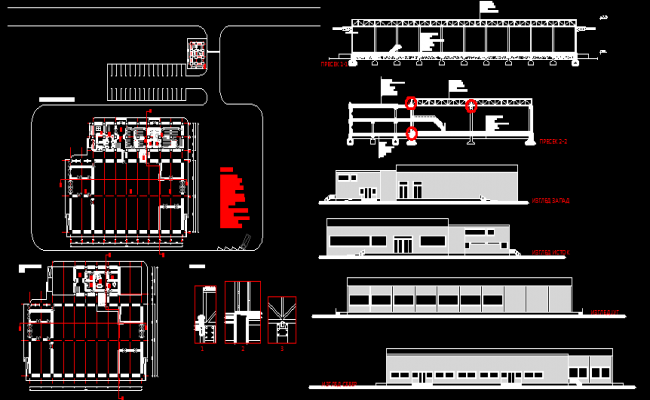 Industrial plant DWG