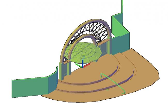 3D Main gate design