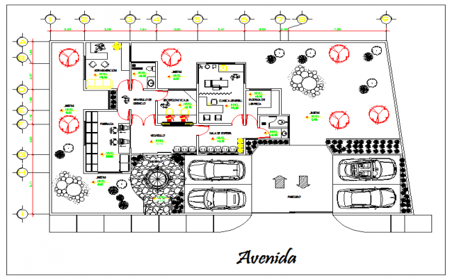 Hospital Design plan