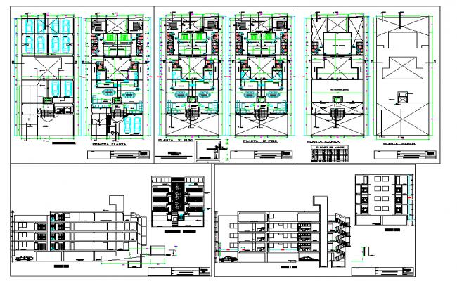 3 Floor Residential Building