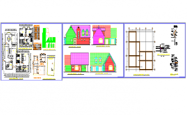 House Type of Bungalow Project