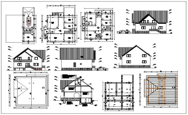 Family House plan