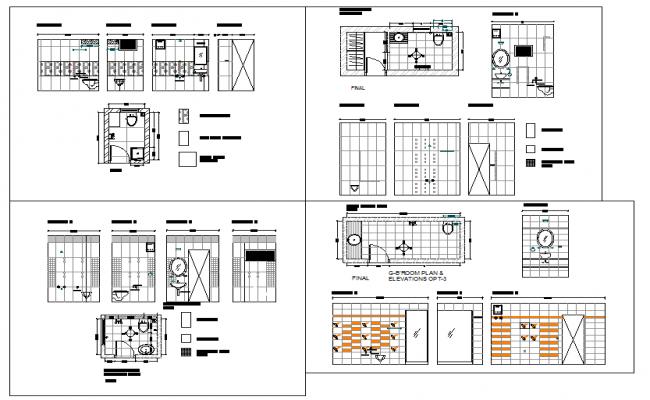 toilet & bathroom detail
