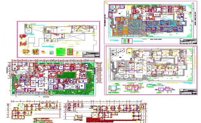 Health centre plan