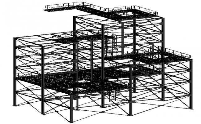 3D Structure Metal Frame
