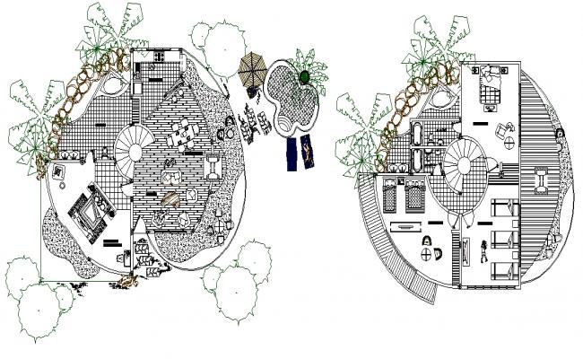 Villa Type Bungalows detail plan