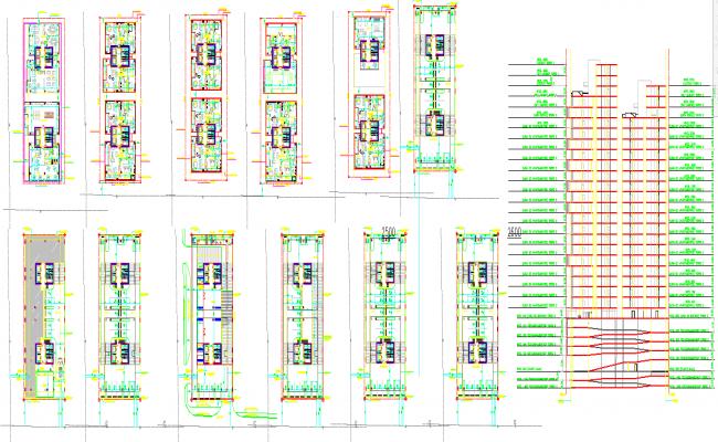 Residencial Building plan