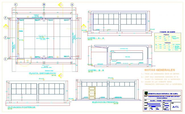 School classroom project