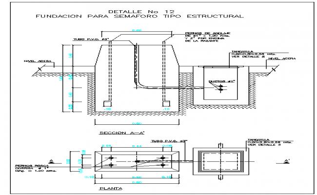 Structure Foundation Detail