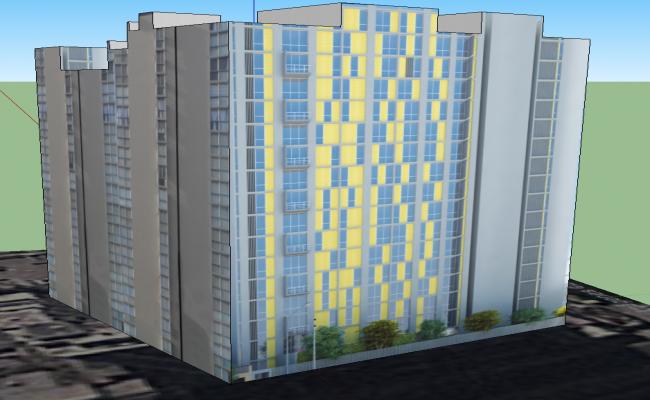 High Rise 3D Building