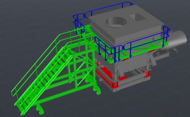 3D Machinery Detail