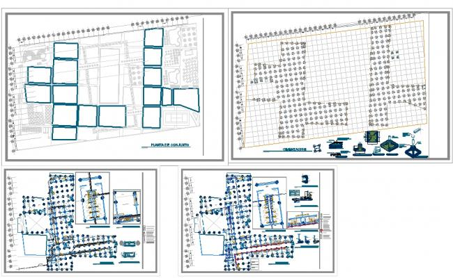 Structure Design Plan Of Hotel