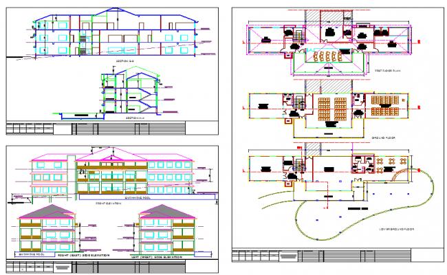 Modern Bungalows plan