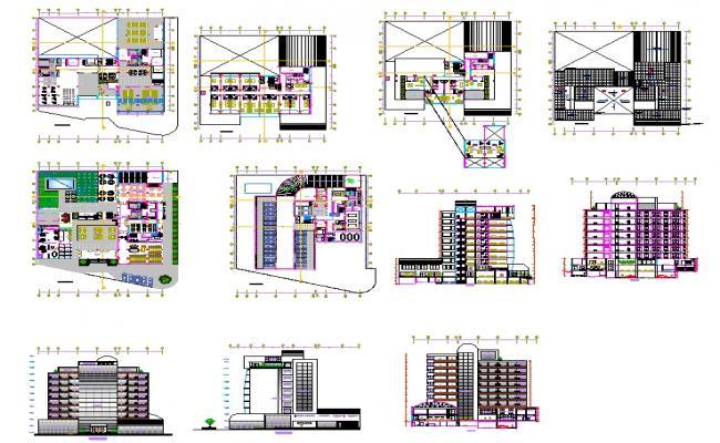 4 Star modern Hotel Design