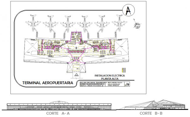 2d & 3d Airport