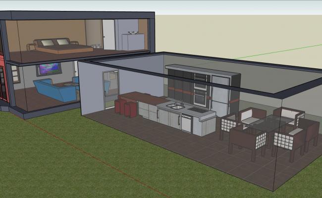 1 Bedroom Duplex House