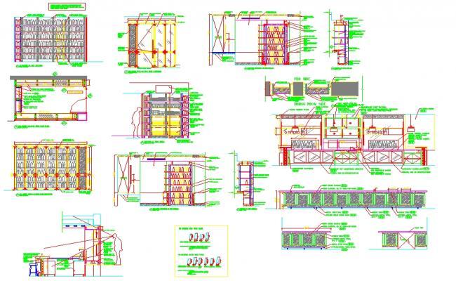 Plan Detail For Restaurant.
