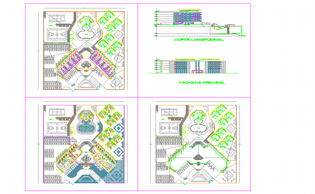 Hotel detail plan