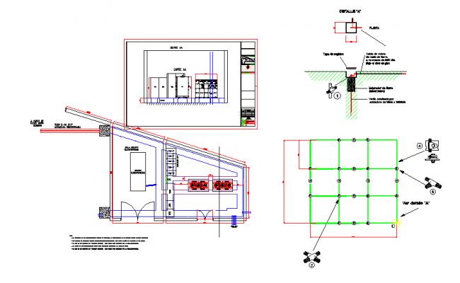 Hospital floor plan dwg