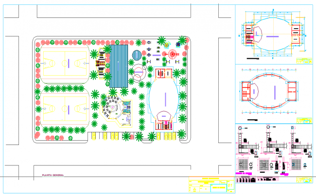 Recreational complex detail file