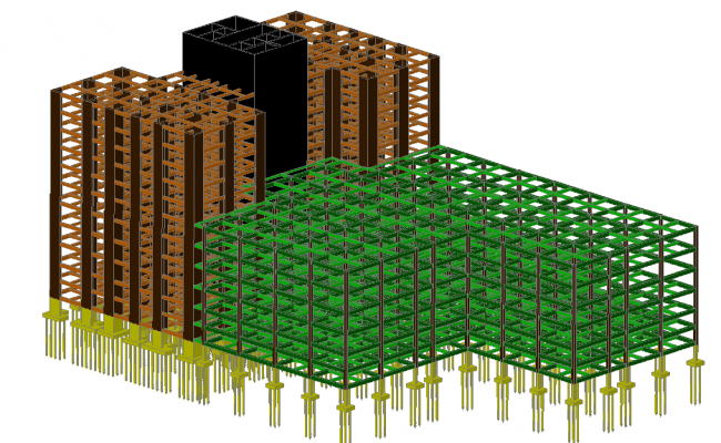 3d Construction Building