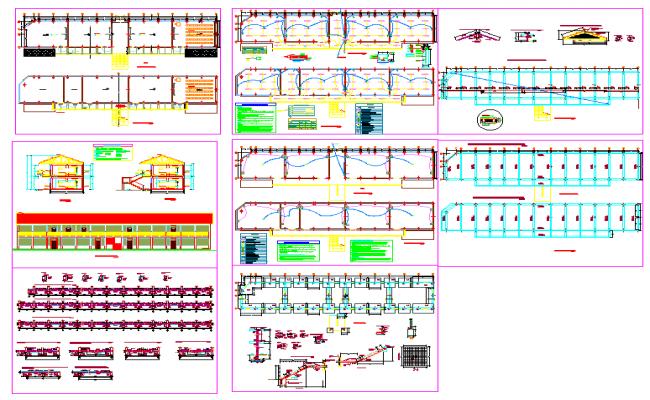 Modern design for Art clollage plan