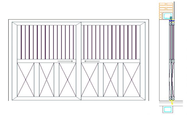Simple Gate Detail