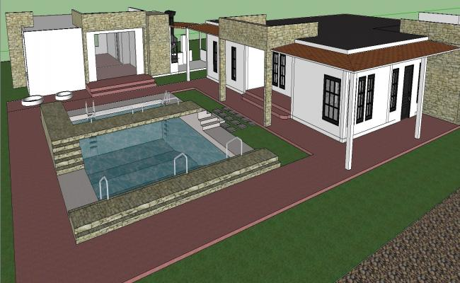 3D Bungalows Project