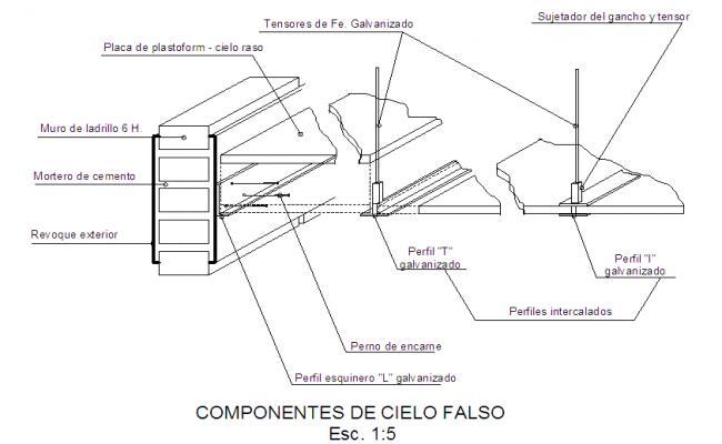 False Ceiling Detail