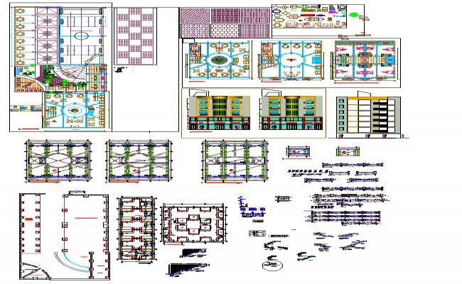 Hotel structure details