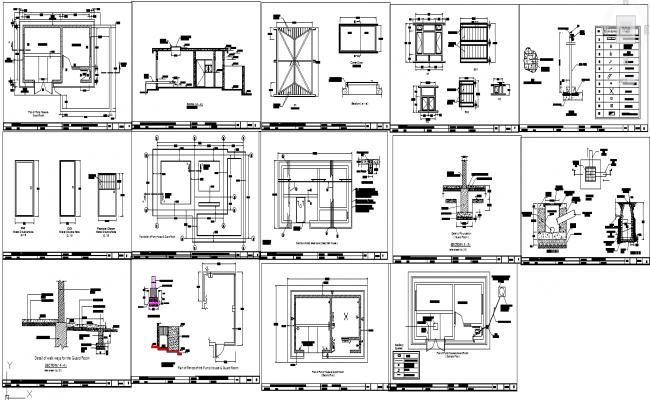 Pump house design