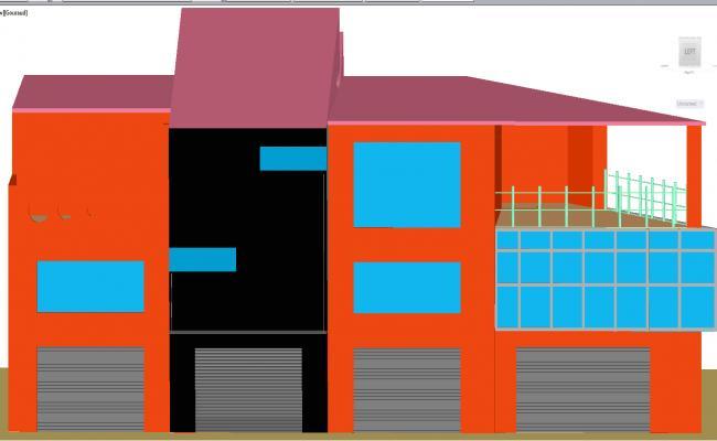 3d commercial store