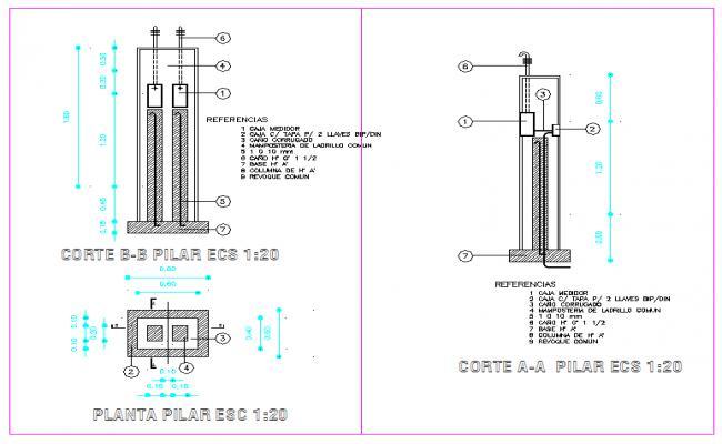 Electrical Piller Detail